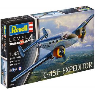 Plastic ModelKit letadlo 03966 - C-45F Expeditor(1:48)