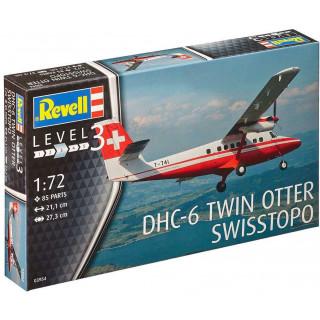 "Plastic ModelKit letadlo 03954 - DHC-6 Twin Otter ""swisstopo"" (1:72)"