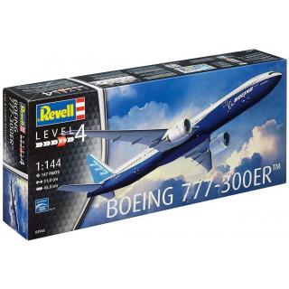 Plastic ModelKit letadlo 04945 - Boeing 777 - 300 ER (1:144)
