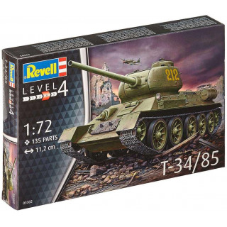 Plastic ModelKit tank 03302 - T-34/85 (1:72)