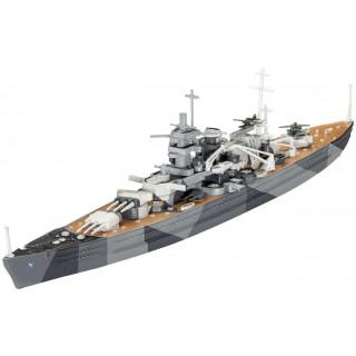 ModelSet loď 65136 -  Battleship Scharnhorst (1:1200)
