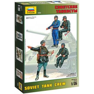 Model Kit figurky 3504 - Soviet Tank Crew (1:35)