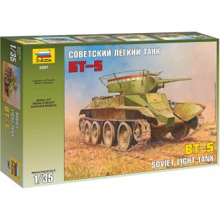 Model Kit tank 3507 - Soviet Tank BT-5 (1:35)
