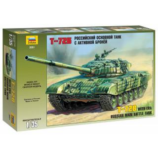 Model Kit tank 3551 - T-72B ERA (1:35)