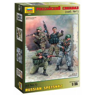 Model Kit figurky 3561 - Russian Special Forces (1:35)