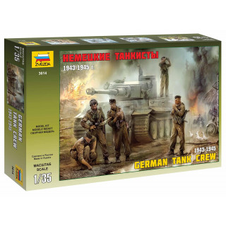 Model Kit figurky 3614 - German Tank Crew (1943-1945) (1:35)