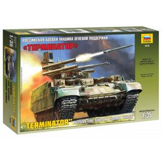"Model Kit military 3636 - BMPT ""Terminator"" (1:35)"