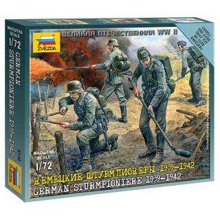 Wargames (WWII) figurky 6110 - German Sturmpioniere (1:72)