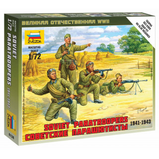 Wargames (WWII) figurky 6138 - Soviet Paratroops (1:72)
