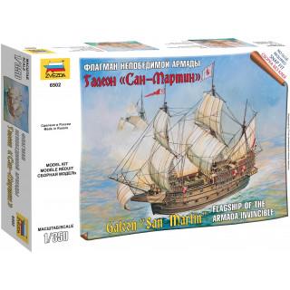 Wargames (TS) loď 6502 - Spanish ship San Martin (1:350)