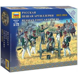 Wargames figurky 6809 - Russian Foot Artillery (1:72)