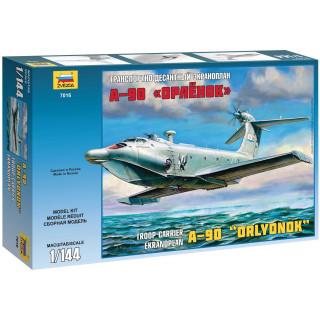 Model Kit ekranoplán Z7016 - Ekranoplan A-90 (1:144)