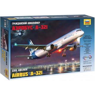 Model Kit letadlo 7017 - Airbus A-321 (1:144)