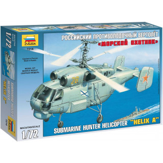 Model Kit vrtulník 7214 - Kamov KA-27 Submarine Hunter (1:72)