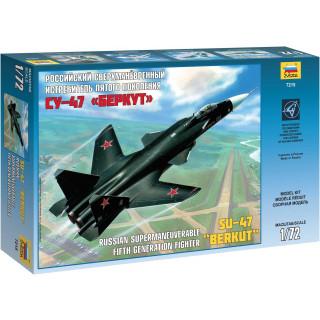 Model Kit letadlo 7215 - Sukhoi SU-47 Berkut (1:72)