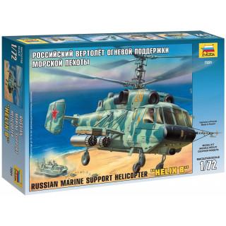 Model Kit vrtulník 7221 - KA-29 Helicopter (1:72)