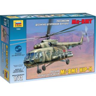 Model Kit vrtulník 7253 - MIL MI-17 Soviet Helicopter (1:72)