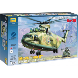 Model Kit vrtulník 7270 - MIL MI-26 Soviet Helicopter (1:72)