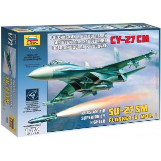 Model Kit letadlo 7295 - SU-27SM (1:72)