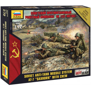 "Wargames (HW) figurky 7413 - Soviet Anti-Tank Missile System AT-7 ""Saxhorn"" (1:72)"