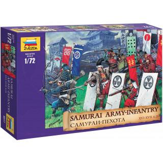 Wargames (AoB) figurky 8017 - Samuray Infantry XVI-XVII A. D. (1:72)