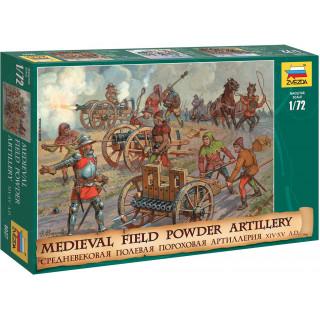 Wargames (AoB) figurky 8027 - Medieval Powder Artillery (1:72)
