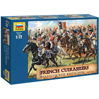 Wargames (AoB) figurky 8037 - French Cuirassiers 1807-1815 (1:72)