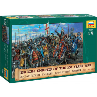 Wargames (AoB) figurky 8044 - English Knights 100 Years War (1:72)