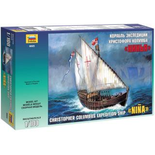 "Model Kit loď 9005 - Caravel ""Nina"" (1:100)"
