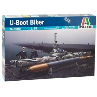 Model Kit ponorka 5609 - U-BOOT BIBER (1:35)