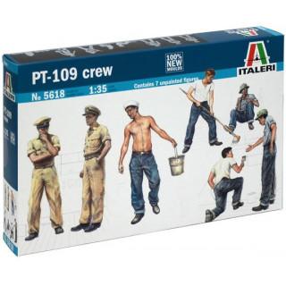 Model Kit figurky 5618 - PT 109 CREW (1:35)