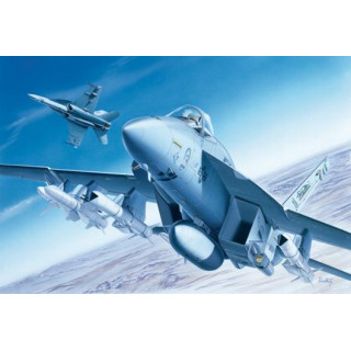 Model Kit letadlo 0083 - F/A-18E SUPER HORNET (1:72)