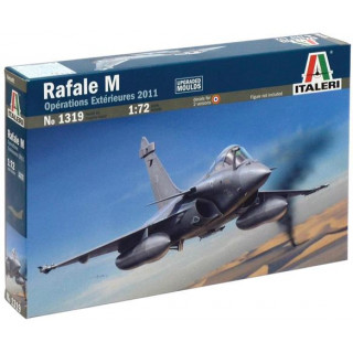 Model Kit letadlo 1319 - RAFALE M OPERATIONS EXTERIEURES 2011 (1:72)