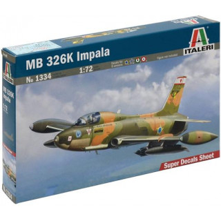 Model Kit letadlo 1334 - MB 326 K IMPALA (1:72)
