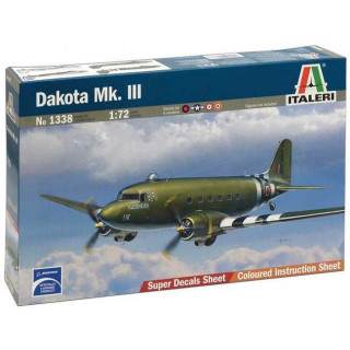 Model Kit letadlo 1338 - DAKOTA Mk.III (1:72)