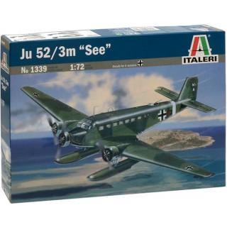 "Model Kit letadlo 1339 - JU 52/3m ""SEE"" (1:72)"