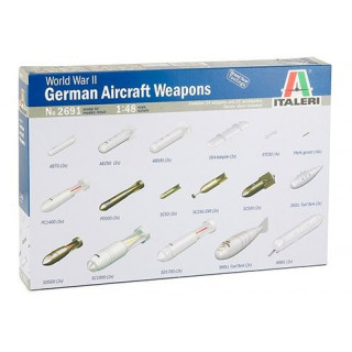 Model Kit doplňky 2691 - WWII German Aircraft Weapons (1:48)