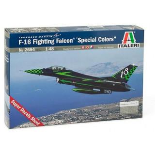 "Model Kit letadlo 2694 - F-16 FIGHTING FALCON ""SPECIAL COLORS"" (1:48)"