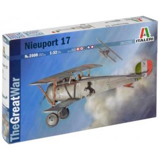 Model Kit letadlo 2508 - NIEUPORT 17 (1:32)