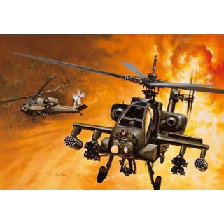 Model Kit vrtulník 0159 - AH-64A APACHE (1:72)