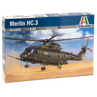 Model Kit vrtulník 1316 - MERLIN HC.3 (1:72)