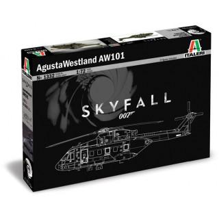 Model Kit vrtulník 1332 - Agusta-Westland AW-101 SKYFALL (1:72)