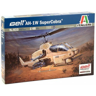 Model Kit vrtulník 0833 - AH-1W SUPERCOBRA (1:48)