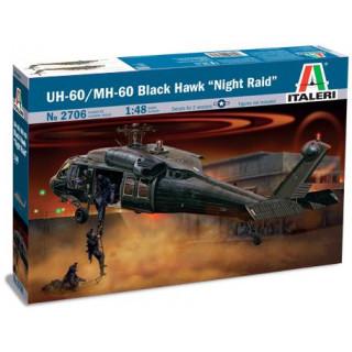 "Model Kit vrtulník 2706 - UH-60/MH-60 ""NIGHT RAID"" (1:48)"