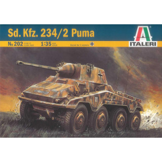 Model Kit military 0202 - Sd.Kfz. 234/2 PUMA (1:35)