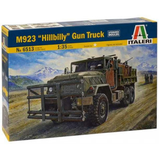 "Model Kit military 6513 - M923 ""HILLBILLY"" Gun Truck (1:35)"