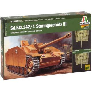 Wargames military 15756 - Sd.Kfz.142/1 Sturmgeschütz III (1:56)