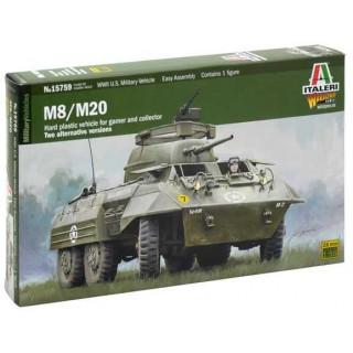 Wargames military 15759 - M8 / M20 (1:56)