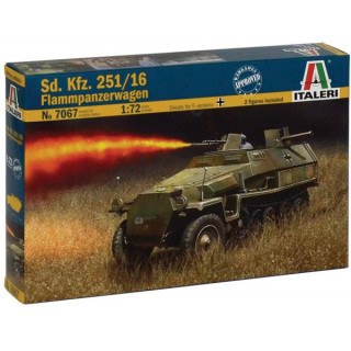 Model Kit military 7067 - Sd.Kfz.251/16 Flammpanzerwagen (1:72)
