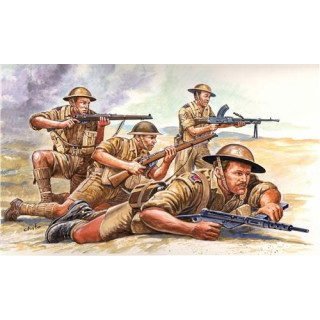 Model Kit figurky 6077 - WWII - BRITISH 8th ARMY (1:72)